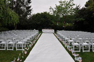 Ceremonie tuin